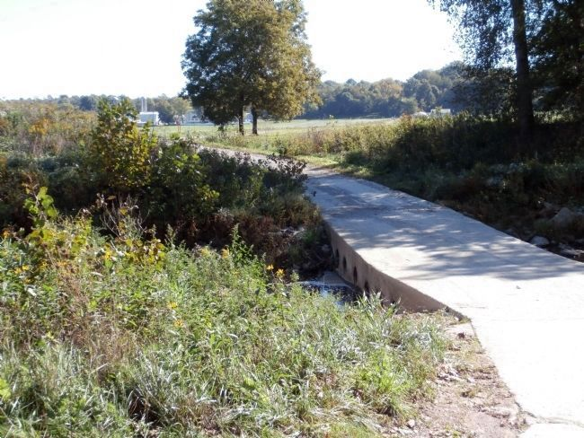 Service Road / Bridge - - used till Covered Bridge was done. image. Click for full size.