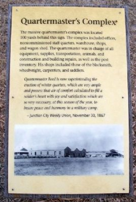 Quartermaster's Complex Marker image. Click for full size.