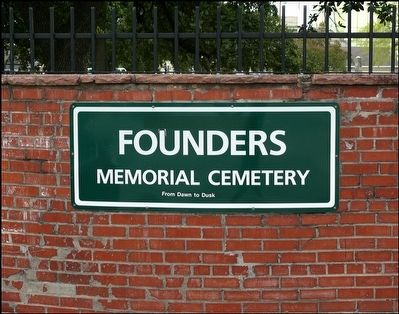 Founders Memorial Park Cemetery image. Click for full size.