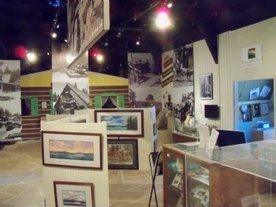 Inside the Mountain History Museum image. Click for full size.