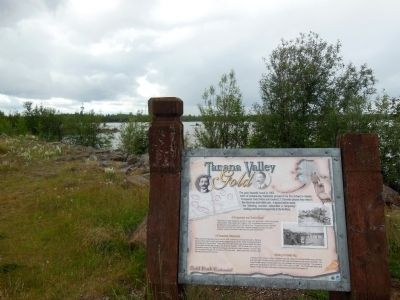 Tanana Valley Gold Marker image. Click for full size.