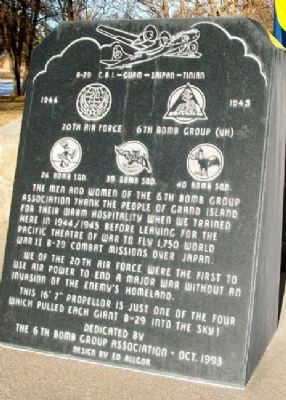 6th Bomb Group Marker image. Click for full size.