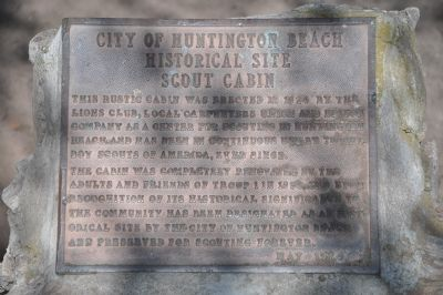 City of Huntington Beach Historical Site Marker image. Click for full size.
