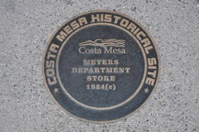 Meyers Department Store Marker image. Click for full size.