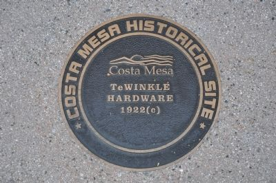 TeWinkle Hardware Marker image. Click for full size.