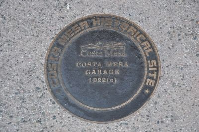 Costa Mesa Garage Marker image. Click for full size.