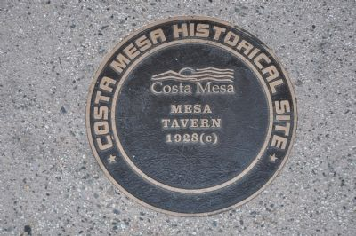 Mesa Tavern Marker image. Click for full size.