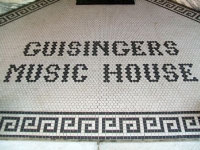 Guisinger Building Entrance image. Click for full size.