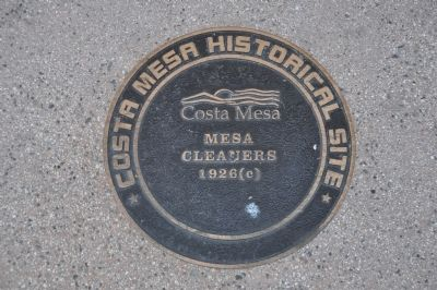 Mesa Cleaners Marker image. Click for full size.