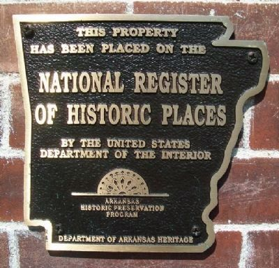 Lewis Brothers Building NRHP Marker image. Click for full size.