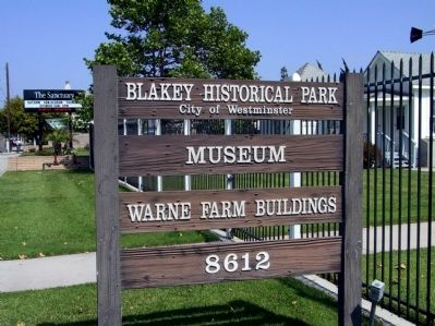 Blakey Historical Park Sign image. Click for full size.
