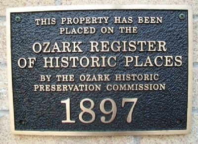 Commercial Block ORHP Marker image. Click for full size.