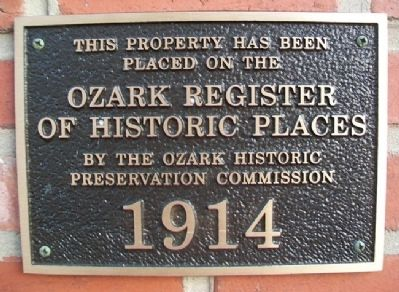 Commercial Building ORHP Marker image. Click for full size.