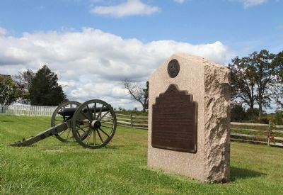 Batteries B & L, Second U.S. Artillery Marker image. Click for full size.