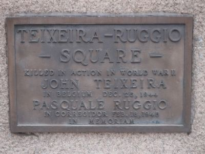 Teixeira-Ruggio Square Marker image. Click for full size.