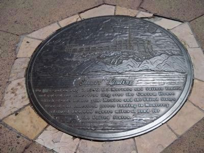 Sloat's Landing Marker image. Click for full size.