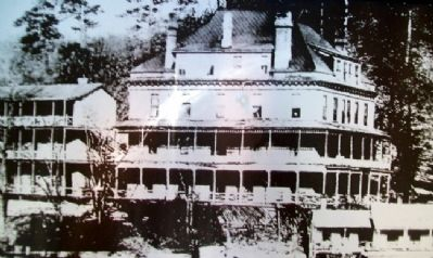 Photo of The Southern Hotel on Marker image. Click for full size.