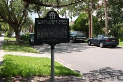 Phelan-Verot House Marker, looking south along N 4th Street image. Click for full size.