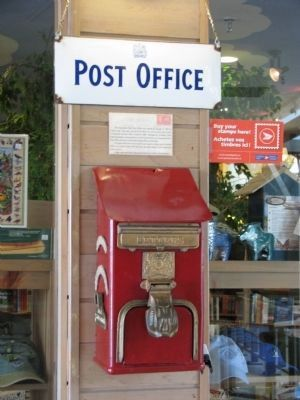 Algonquin Park Post Office image. Click for full size.