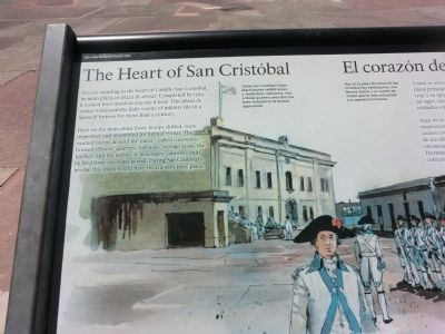 The Heart of San Cristobal Marker image. Click for full size.
