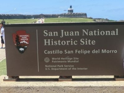 Defending San Juan Marker image. Click for full size.