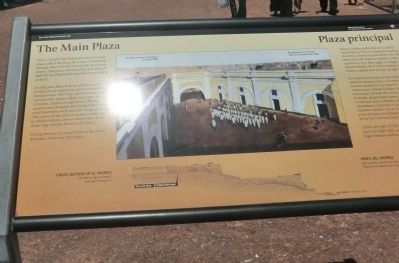 The Main Plaza Marker image. Click for full size.