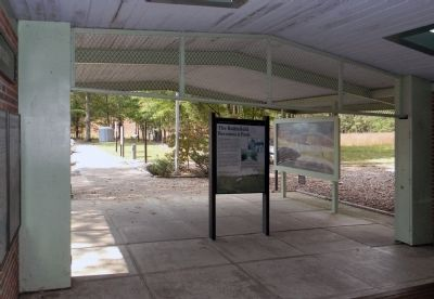 Wide view of The Battlefield becomes a Park Marker image. Click for full size.