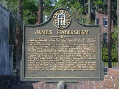 Joseph Habersham (1751-1815) Marker image. Click for full size.