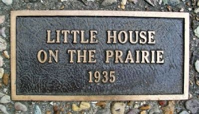 """Little House on the Prairie"" 1935 Marker image. Click for full size."