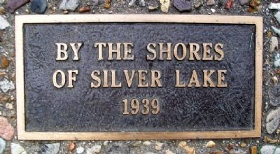 """By the Shores of Silver Lake"" 1939 Marker image. Click for full size."