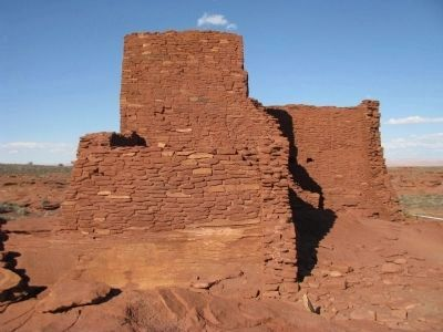 Wukoki Pueblo image. Click for full size.