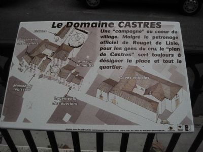 Le Domaine CASTRES Marker image. Click for full size.