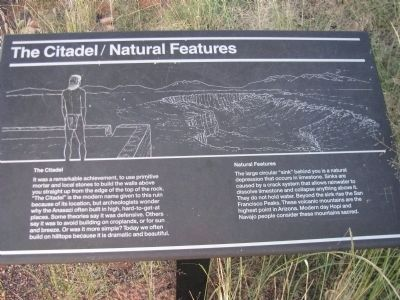 The Citadel / Natural Features Marker image. Click for full size.