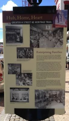 Enterprising Families Marker image. Click for full size.