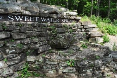 Sweet Water Spring closer view image. Click for full size.