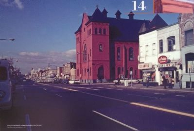 Douglas Memorial United Methodist Church, 1967 image. Click for full size.