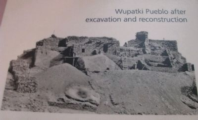 Wupatki Visitor Center Display image. Click for full size.