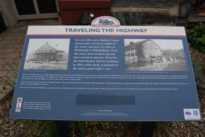 Traveling The Highway Marker image. Click for full size.