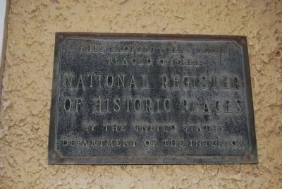 Union Church National Register of Historic Places marker image. Click for full size.