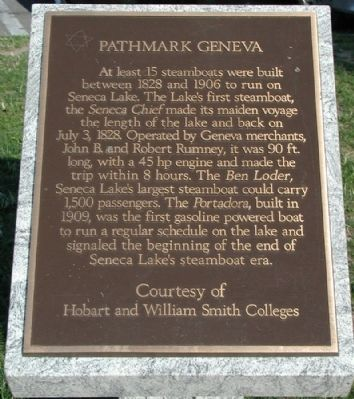 Pathmark Geneva Marker image. Click for full size.