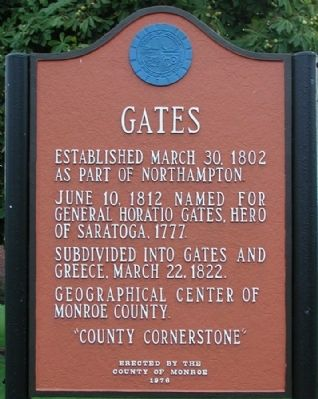 Gates Marker image. Click for full size.