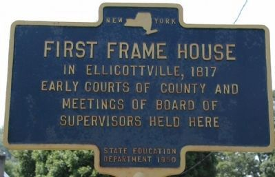 First Frame House Marker image. Click for full size.