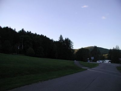 Civilian Conservation Corps Marker Site as seen facing North image. Click for full size.
