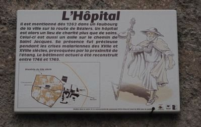 L'Hôpital Marker image. Click for full size.