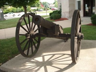 Front View - - Cannon by Marker image. Click for full size.