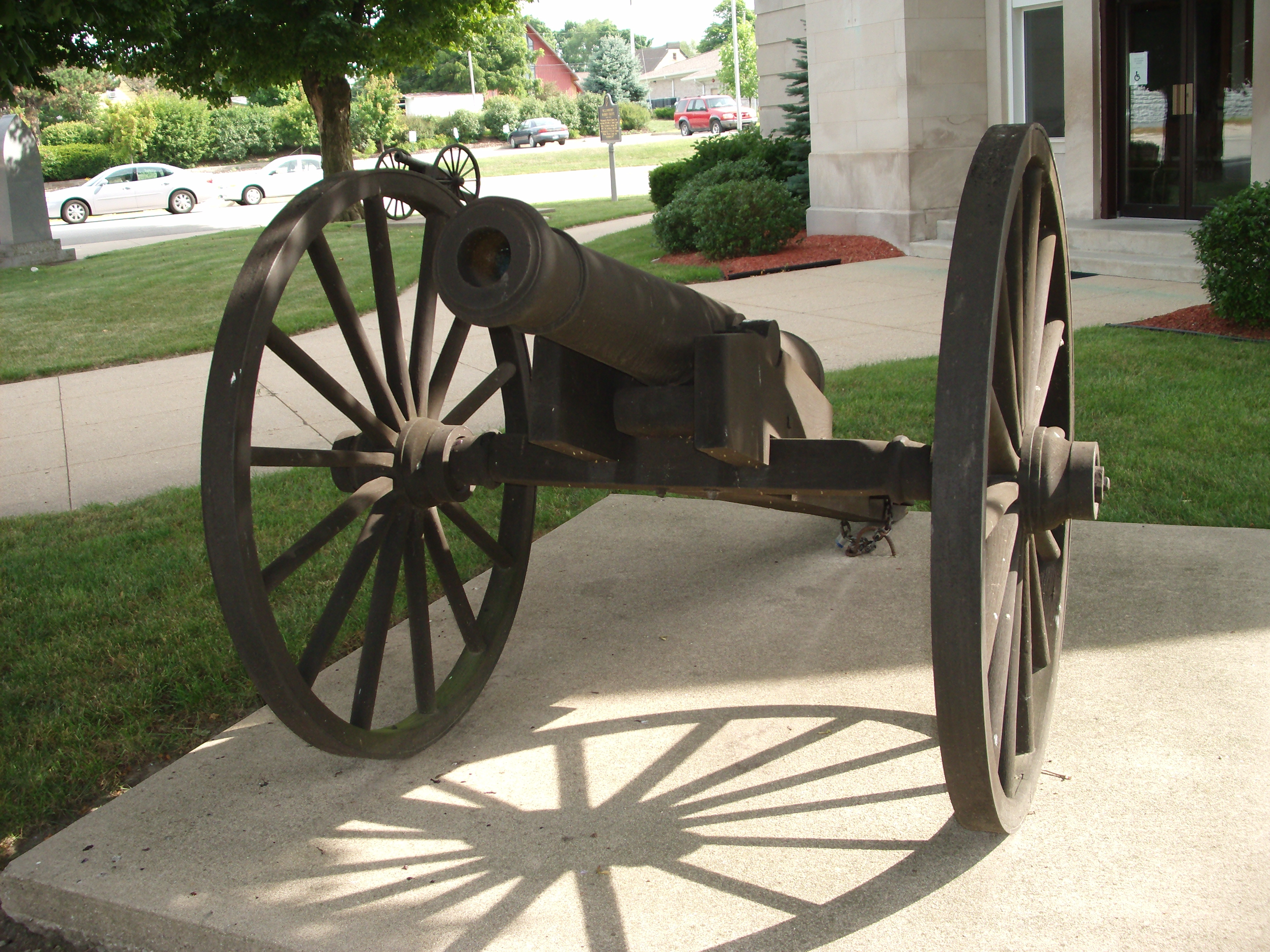 Front View - - Cannon by Marker