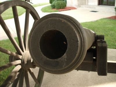 Muzzle View - - Cannon by Marker image. Click for full size.