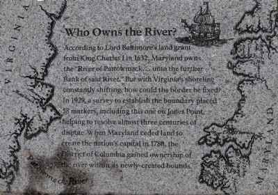 """Who Owns the River?"" Marker image. Click for full size."
