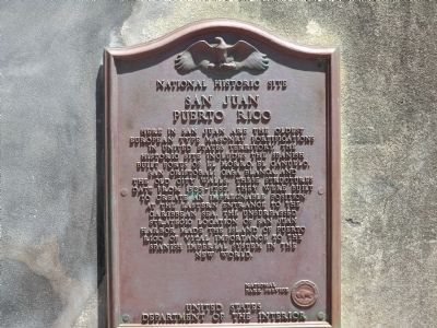 National Historic Site Marker image. Click for full size.