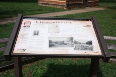The Lincolns at Knob Creek Marker image. Click for full size.